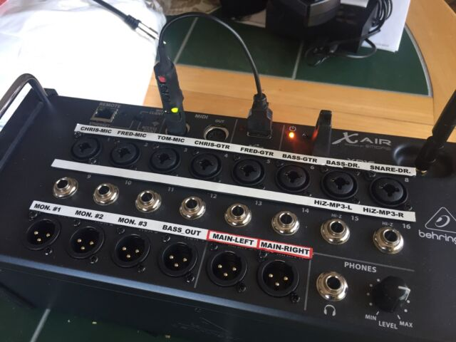 behringer x air xr18 18 channel digital mixer for sale online ebay. Black Bedroom Furniture Sets. Home Design Ideas