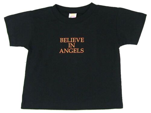 The Crow Believe In Angels Toddler Baby Black T Shirt New Official Movie