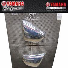 GENUINE YAMAHA VIRAGO 700/750/1000/1100 CHROME SIDE COVERS ABA-42X09-00-10