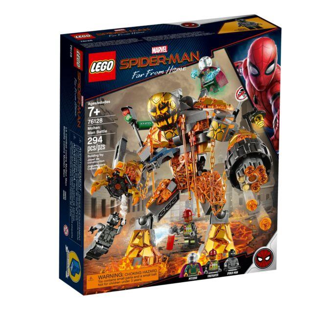 LEGO Marvel Spider-Man Far From Home Molten Man Battle