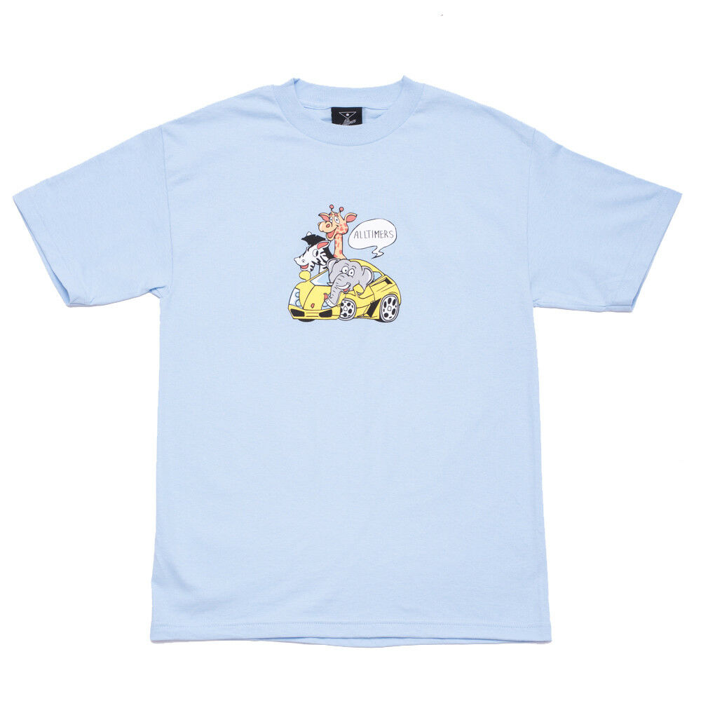 Alltimers Clothing Rich Zoo Tee Mens Tshirt SRP  Various Colours bluee, Pink