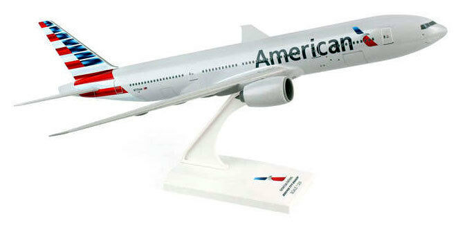 American Airlines Boeing 777-200 1 200 skymarks b777 modèle skr747  NEUF aa  qualité garantie