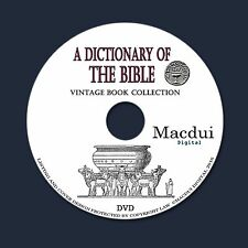A dictionary of the Bible – 5 Vintage e-Books Collection on 1 DATA DVD Theology