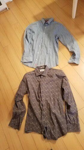 Men Penguin Shirts Size M&L. 2 shirts