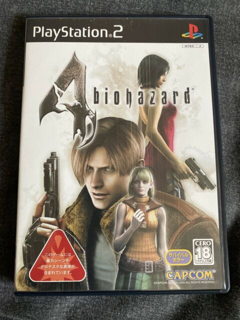 SONY PS2 Resident Evil 4 Biohazard NTSC-J Japón hj2002-179