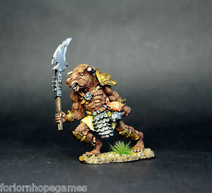 Minotaur-Axe-Warhammer-Fantasy-Armies-28mm-Unpainted-Wargames