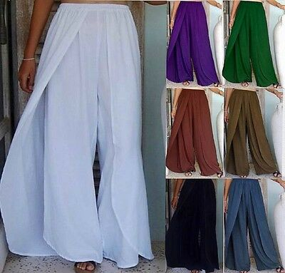 @Z990 STUNNING LAYERED PANT RAYON S M L XL 1X 2X 3X 4X 5X 6X MADE 2 ORDER