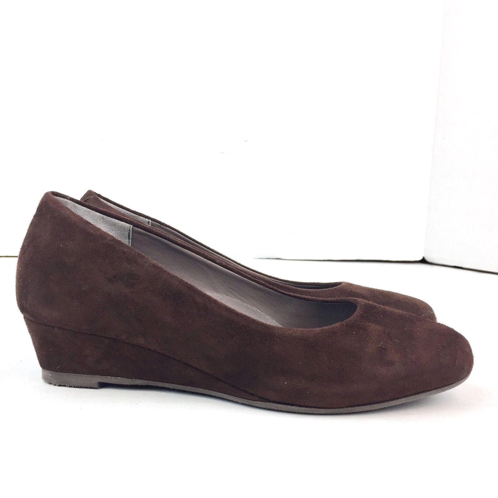 Prezzo al piano SAS Donna  Marrone Leather Suede Comfort Comfort Comfort Wedge Heels Dimensione 8.5M Made in   prezzo all'ingrosso