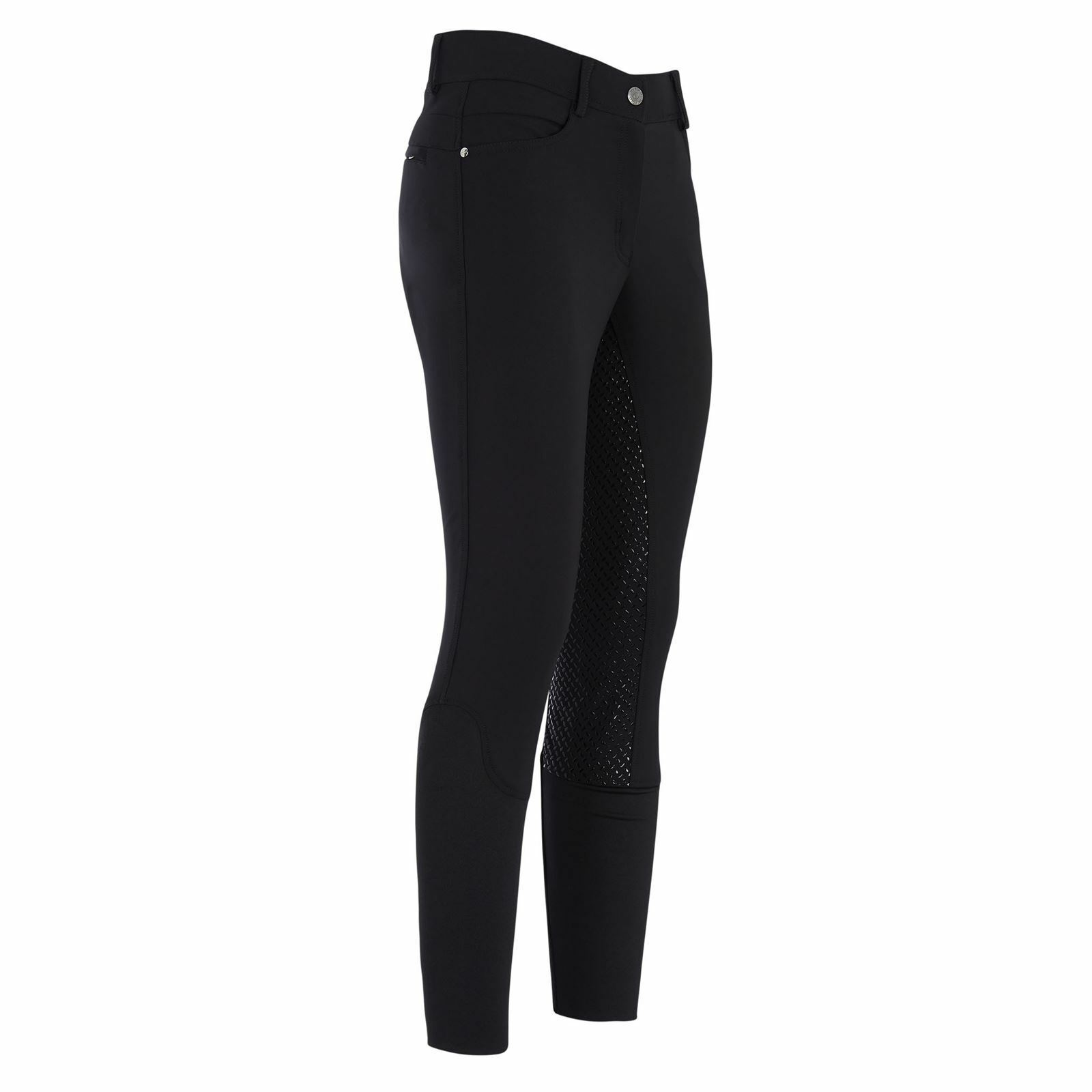 HV Polo Lara Ladies Horse Riding Full Silicone Seat County Fashionable Breeches