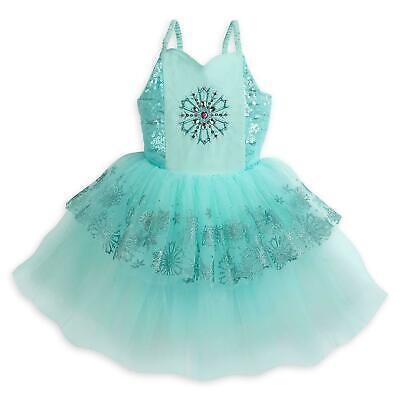 NWT Disney Store Frozen Elsa Leotard