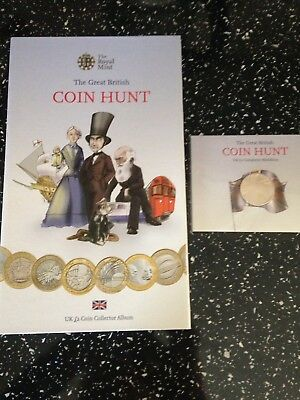 Bright Royal Mint £2 Coin Album First Edition Common Wealth Games Completer Medallion London 2012 Sports Memorabilia