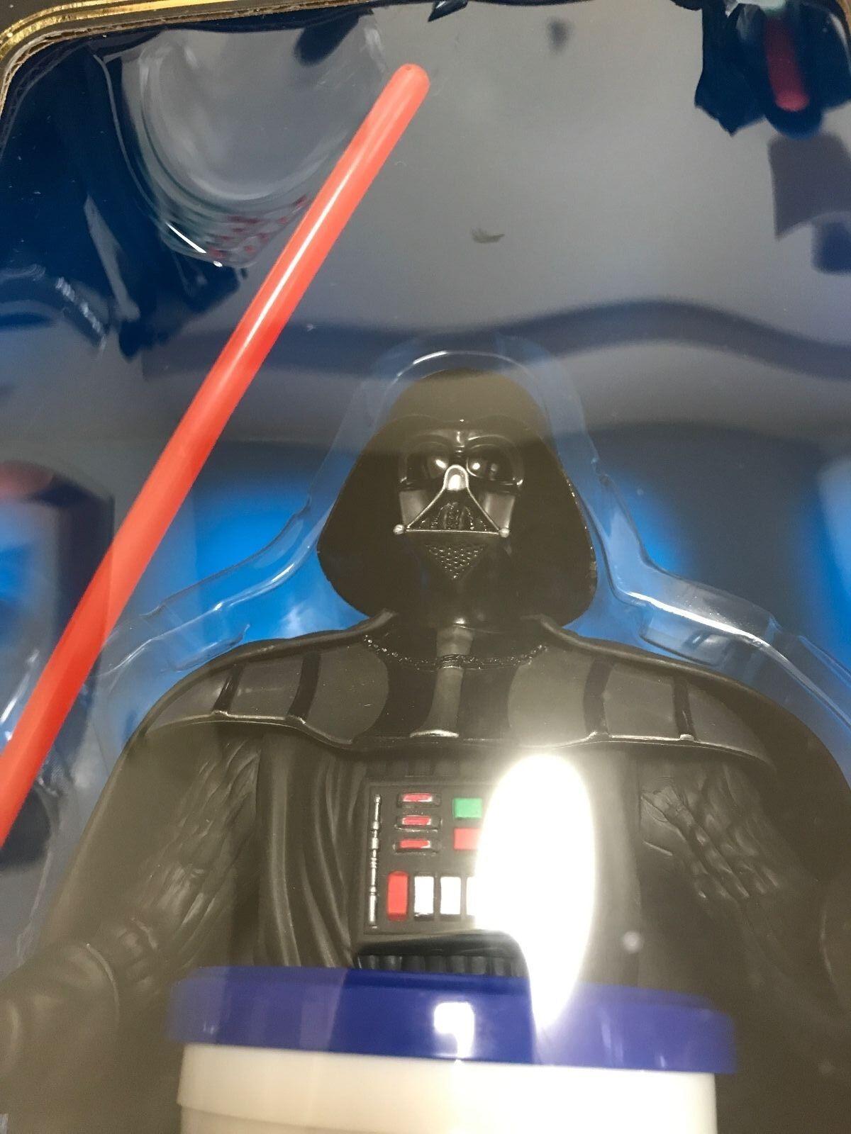 Star Wars Pepsi Cup topper set Darth Vader figure figure figure 2005 LTD ONLY 1000 Japan RARE  784a10
