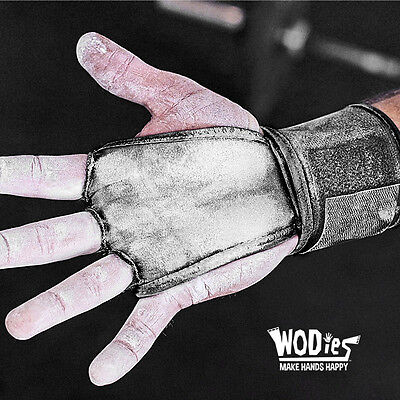 WODies 2in1 WOD Grips, wrist wraps, gloves for CrossFit