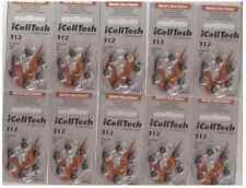 New 60x hearing aids batteries type 312 platinum zinc air battery Korea