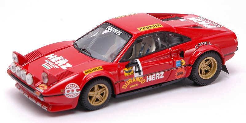 Ferrari 308 GTB talla 3  4 winner Monza Rally 1979 Pinto penariol 1 43 Model