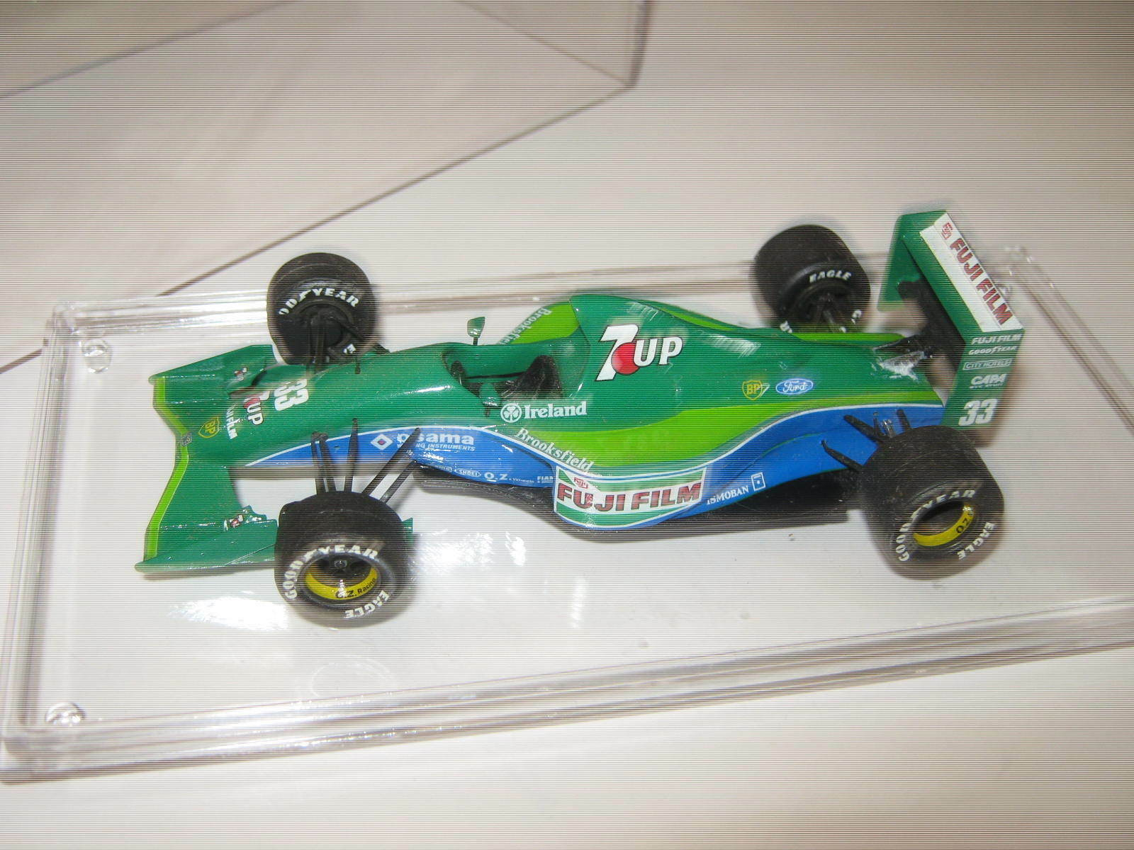 1 43 Jordan Ford 191 A. DeCesaris British GP 1991 TAMEO Models in showcase  | Zürich