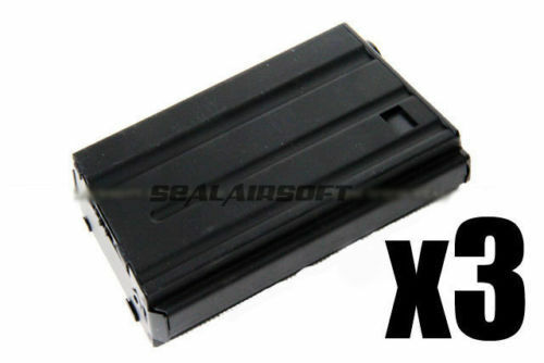 D-BOYS 190rd Hi-Cap VN Airsoft Toy Magazine For CYMA G&P JG Marui Kingarms 3PCS