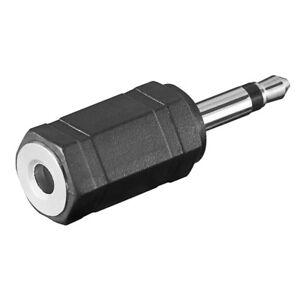 Adapter-3-5mm-Stereo-Klinke-Buchse-Kupplung-weiblich-auf-Mono-Stecker-maennlich
