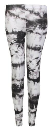 DONNA da Lunghezza Intera Diverse Fantasie Leggings Elasticizzato Pantaloni