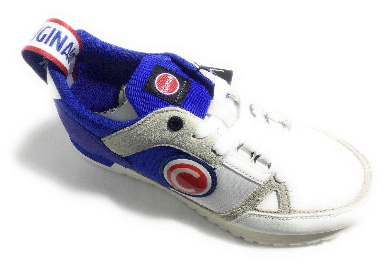 Colmar Supreme Mabro O. By O. 200 blancooo Royal zapatos hombres Casual zapatillas Man