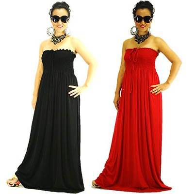 NWT Plus Size XL 2X 3X NEW Womens Strapless Evening/Summer Sexy Party Maxi Dress