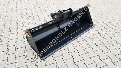 Systematisch Grabenräumlöffel Ms03 Sy 1500 Mm Löffel Schaufel Bagger Ms 03 150 Cm 4-6 T Hohe QualitäT Und Preiswert Löffel & Schaufeln