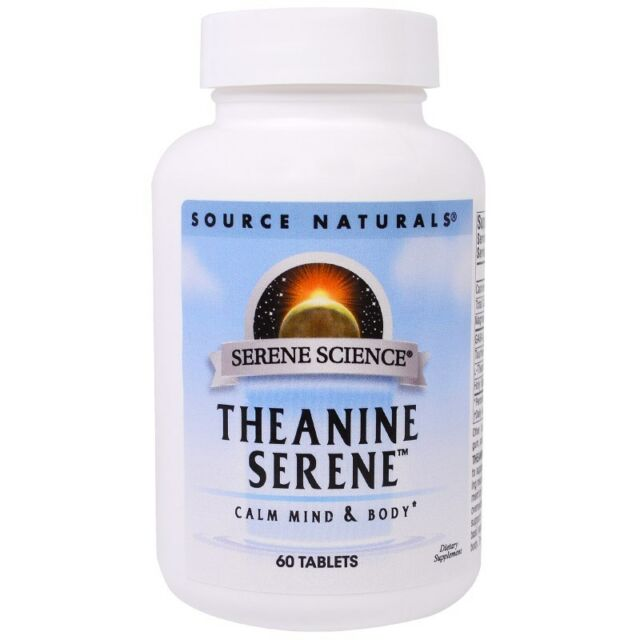 Theanine Serene With Gaba, 60 Tablets