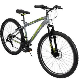 Huffy-Mountain-Bike-Mens-26-Inch-Silver-18-Speed-Extent-NEW