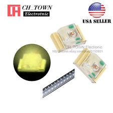 100PCS 0805 (2012) Warm White Light SMD SMT LED Diodes Emitting Ultra Bright USA