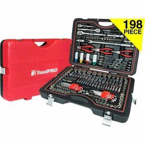 ToolPRO Automotive Tool Kit 198 Piece