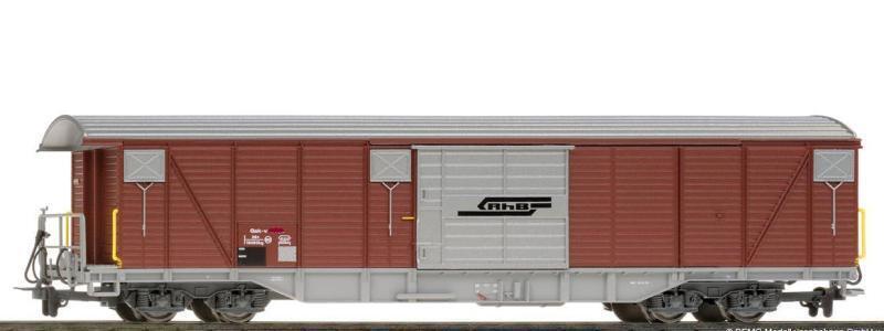 BEMO 2278 177/2278177 RhB il  GAK  - V 5407 muro scorrevoli carrello traccia h0m DC NUOVO
