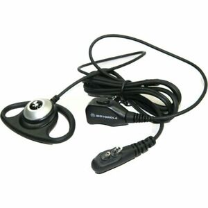 NEW PMLN4658A Motorola D-Hook Flexible Mic Tube Dual Pin CP150, CP200 PR400