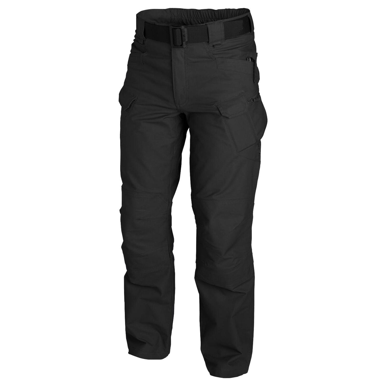 Helikon-Tex Urban Tactical Pants TAKTISCHE HOSE -Polycotton Canvas- SCHWARZ