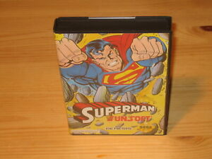 Superman-Sega-Genesis-Original-Case-Box-amp-Cover-Art-Only-NO-GAME-CARTRIDGE
