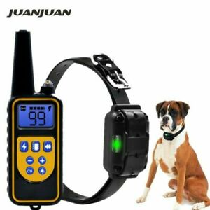 Pet Dog Shock Collar Waterproof With Remote Electric For Large 880 Yard