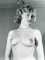 4x5.5 BUSTY 1940s-1950s Pinup #1 * BIG BREASTS & PUFFY NIPPLES! (NUDES)