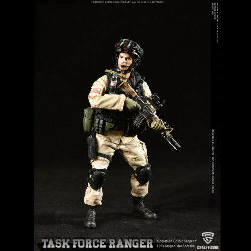 master sergeant Action Figure CrazyFigure  LW005 1//12 US Delta Special Force-