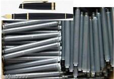 30 ink cartridges, refills for your WATERMAN EXPERT Fountain Pen in BLACK
