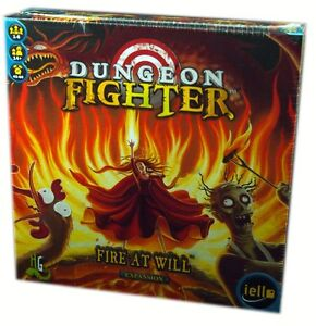 Iello Games, Dungeon Fighter, Fire at Will Expansion, Board Game new