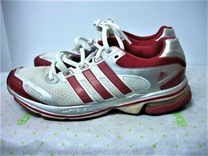 Details about ADIDAS AdiPrene Continental Formotion Men's Size 6.5 White Red Athletic Shoes