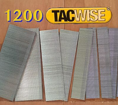 """1000 Tacwise 35mm Brad Nails 18 Gauge//18g//180 Galvanised for Gun 1 3//8/"""" Quality"""