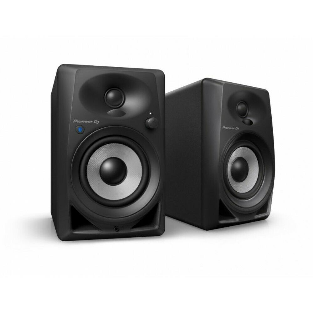 Pioneer DM-40BT Bluetooth AptX Active DJ Monitor Speakers Black Powered PAIR