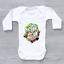 miniature 6 - Wubba Lubba Dub Dubb, Funny Rick and Morty Baby Grow Bodysuit Vest, Unisex Gift