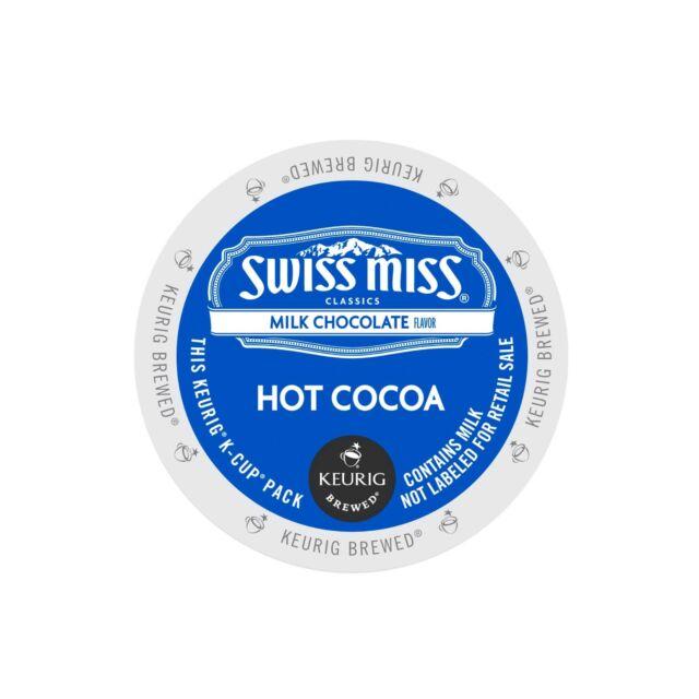 Swiss Miss, Milk Chocolate Hot Cocoa, Keurig K-Cups, PICK QUANTITY