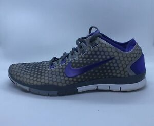 Nike-Free-TR-Connect-2-Women-s-Athletic-Running-Shoes-8-5-Gray-Purple-638680-002