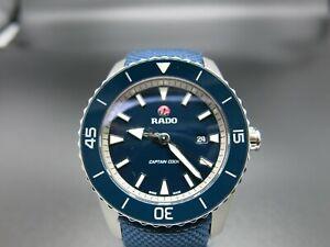 Rado-HyperChrome-Captain-Cook-Automatic-Blue-Men-039-s-Watch-R32501206
