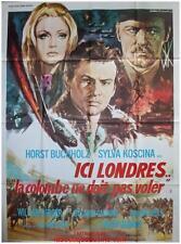 ICI LONDRES LA COLOMBE NE DOIT PAS VOLER Affiche Cinéma 160x120 Movie Poster