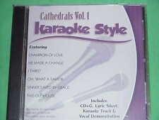 Cathedrals, Vol. 1: Karaoke Style by Karaoke (CD)