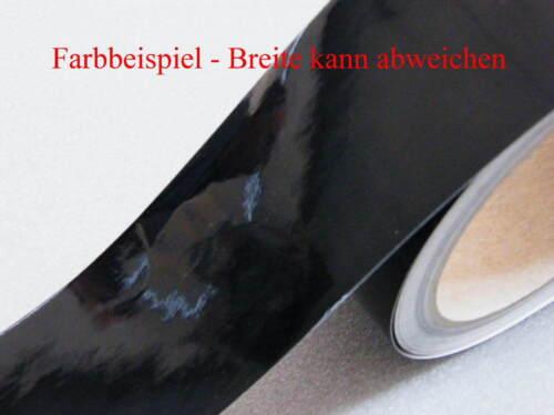 Zierstreifen 30 mm schwarz 710 glänzend Zierlinie Dekorstreifen Warnstreifen