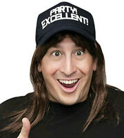 Excellent Wayne's World Wig And Hat Costume Accessory Kit